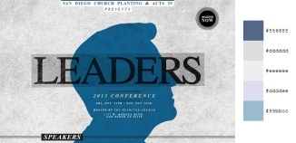 Beautiful and Inspiring Color Combinations in Web Design - Leaders - The Conference