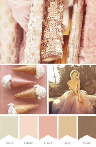 Color Inspiration #3 - Pink and Gold