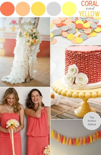 Color Inspiration #9 – Coral and Yellow